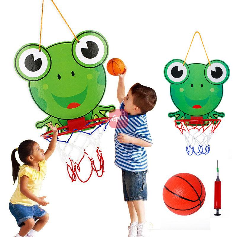 儿童卡通篮球板户外室内悬挂篮球架运动体育投篮玩具